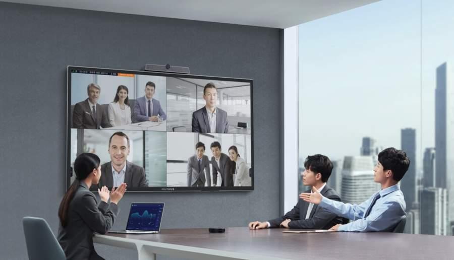 MAXHUB发布视频会议一体机:一个动作升级远程协作体验