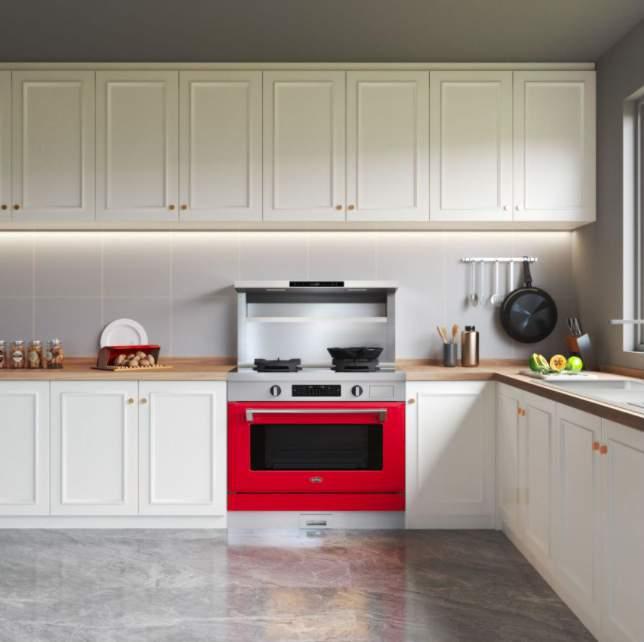 厨房的一角  描述已自动生成